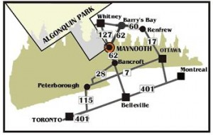 algonquin map